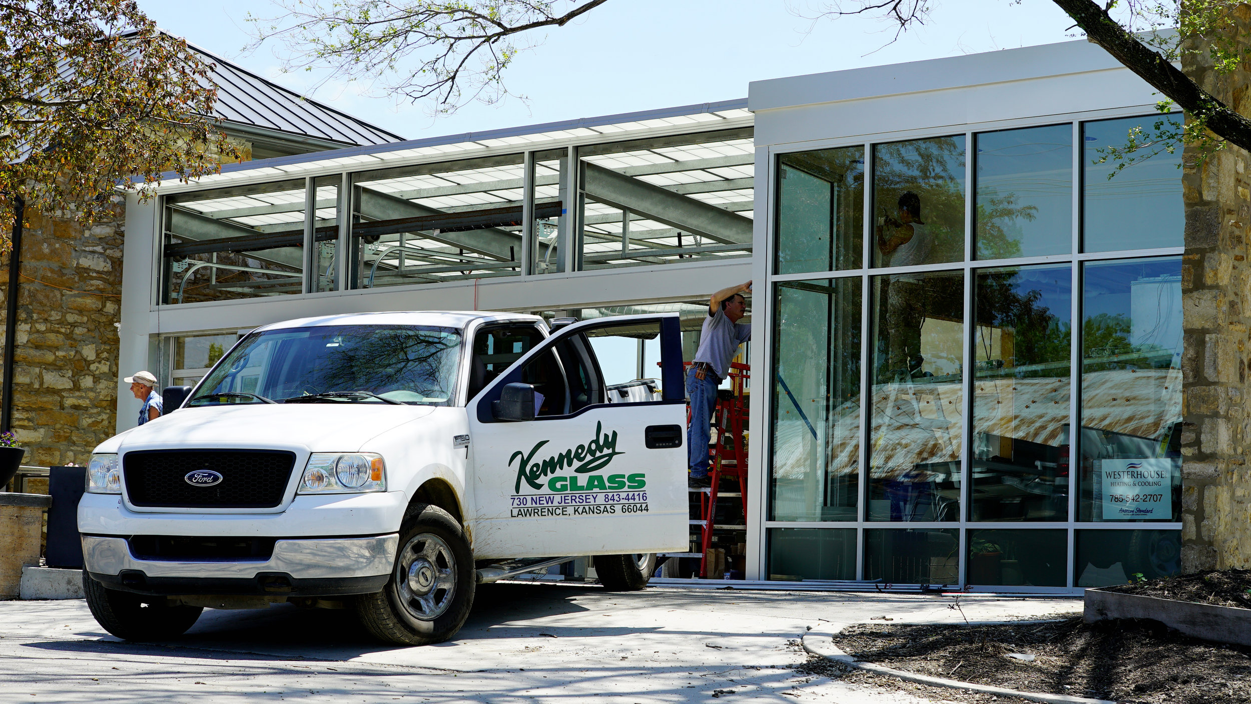 Kennedy Glass Commercial Install