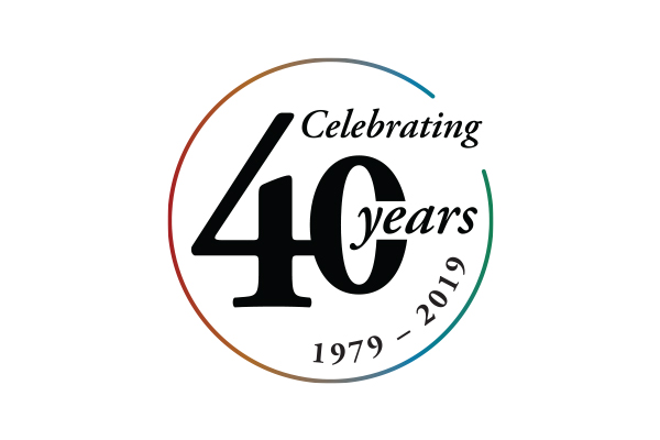 Theater Breaking Through Barriers - 40th Anniversary Logo