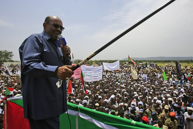 Omar al-Bashir came to power in a coup and has held on through successive elections that his opponents say were not free or fair (AFP).