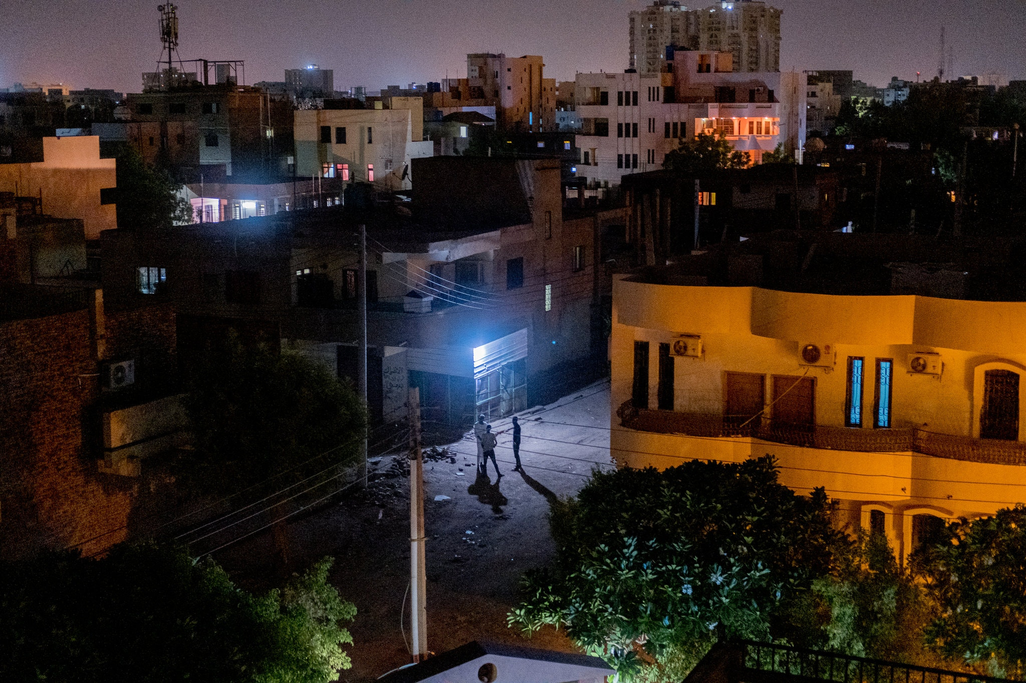 Burri, a Khartoum neighborhood that was at the center of protests in Sudan. Credit Declan Walsh/The New York Times