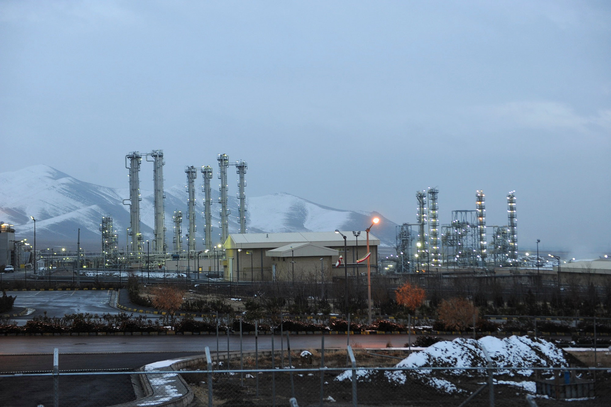 Iran's Arak nuclear plant in 2011. Credit Hamid Foroutan/Iranian Students News Agency, via Associated Press