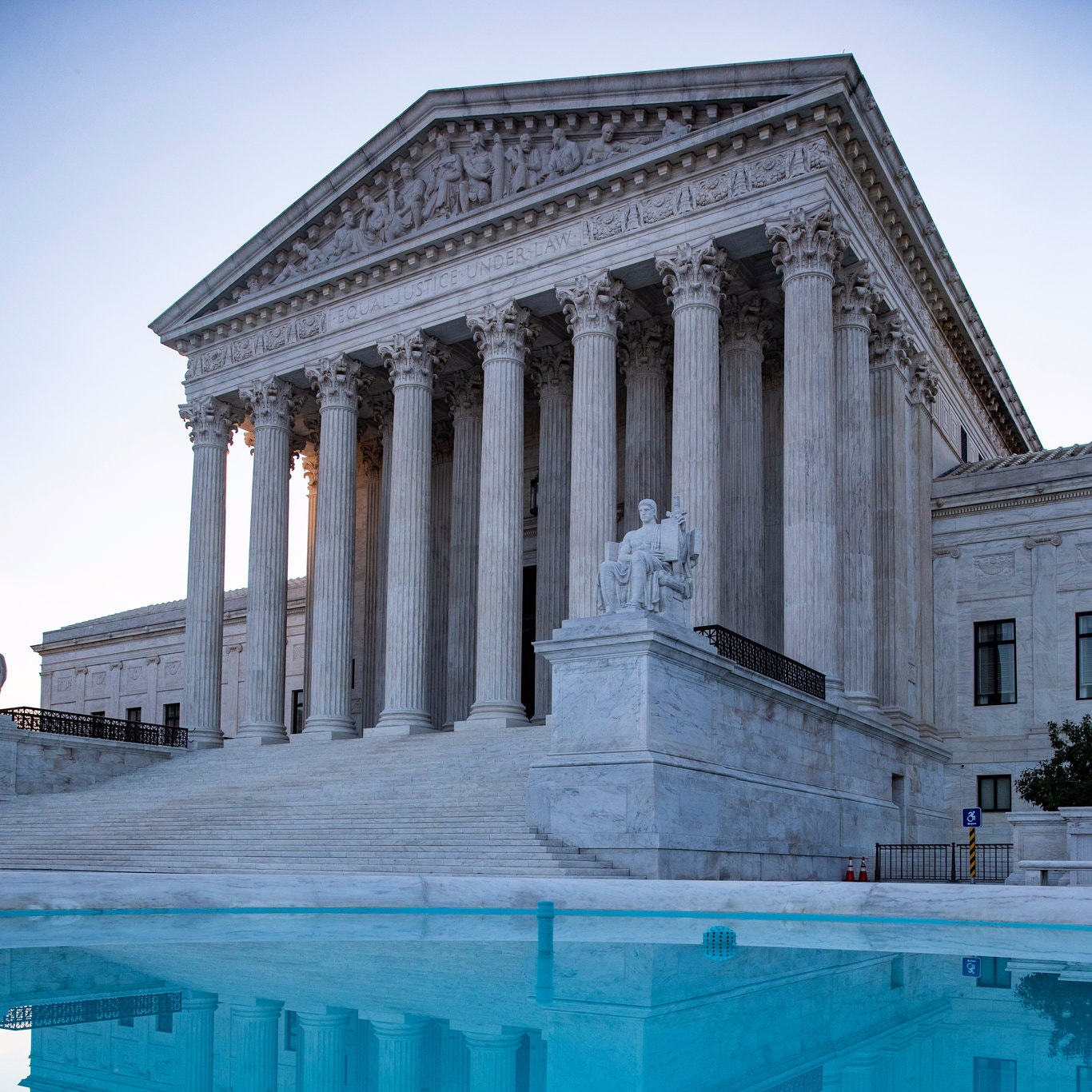The Supreme Court ruled Thursday on two bitterly contested cases that addressed issues fundamental to the American political system itself. Credit Samuel Corum for The New York Times