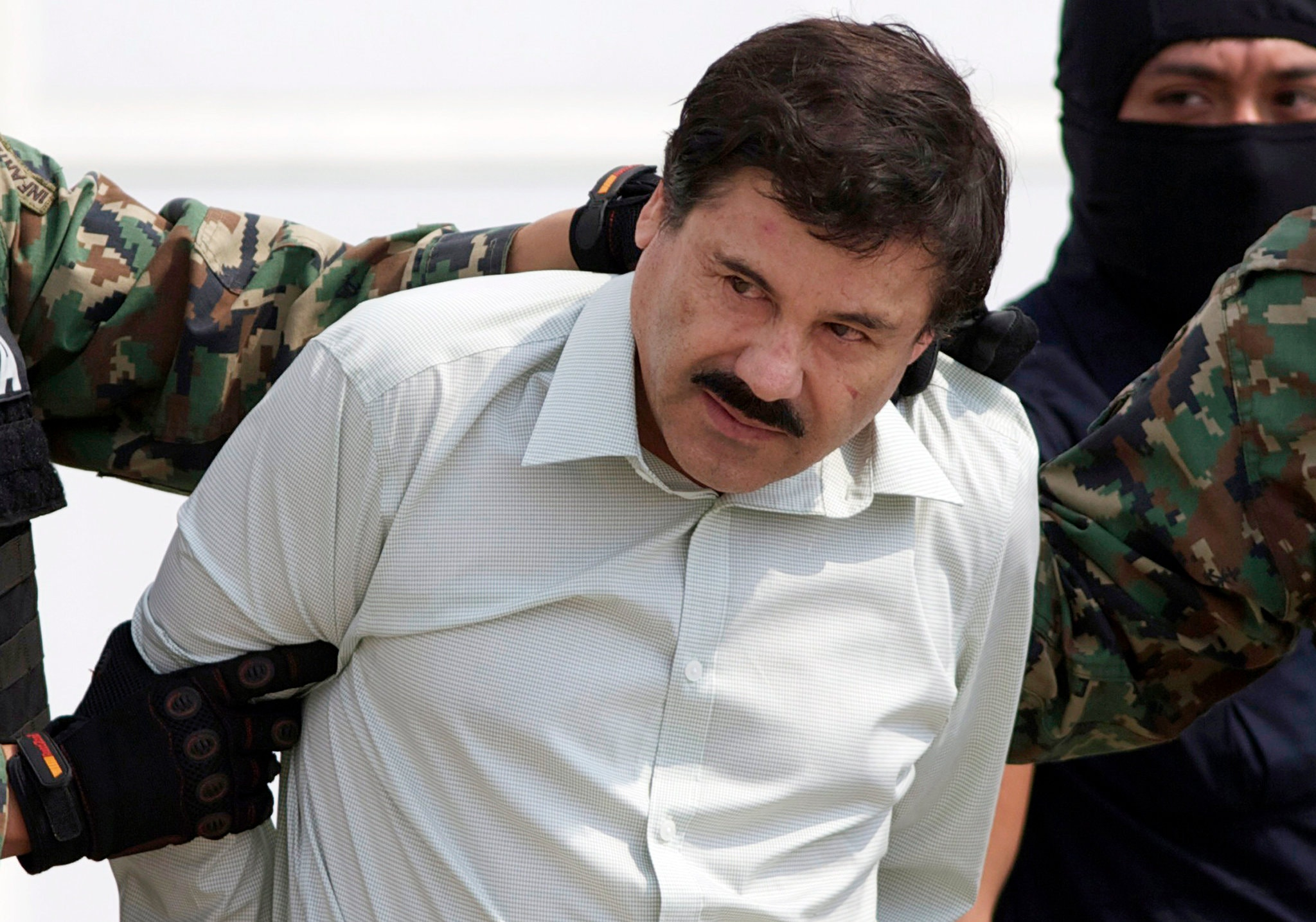 Joaquín Guzmán Loera, known as El Chapo, broke out of prison twice in Mexico before being extradited to the United States. Credit Eduardo Verdugo/Associated Press