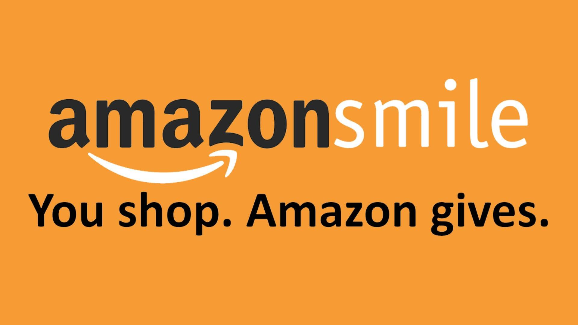 Support us when you shop on Amazon with Amazon Smile