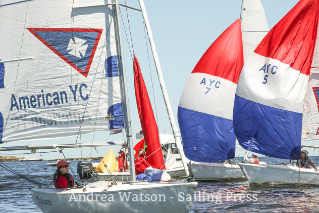 Queens Cup 2018 - Held in early July at American Yacht Club in Rye, NY, this regatta is with spinnakers. This event is hosted at the winner's yacht club.