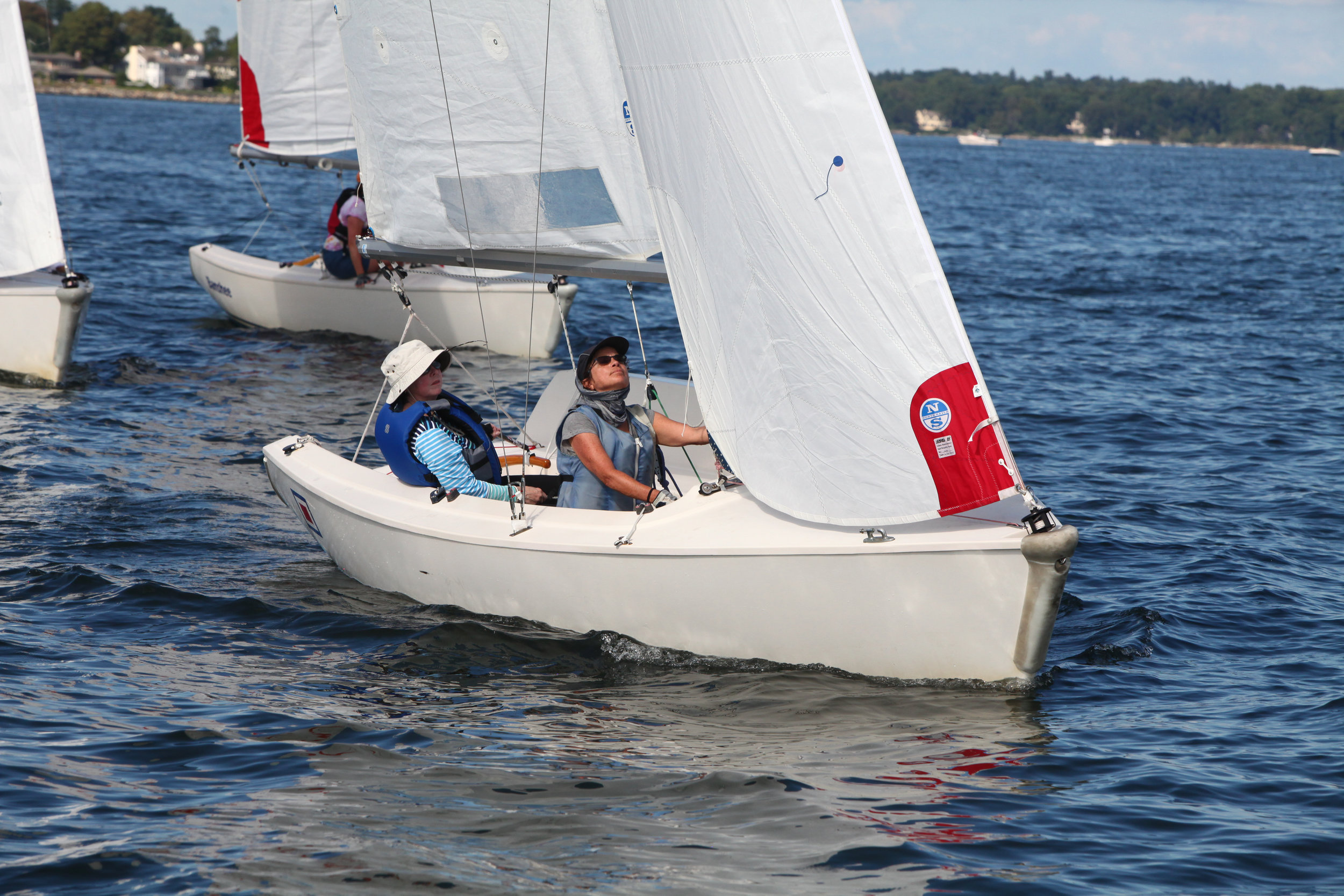 The Mendez 2018 - Held in mid September at Larchmont Yacht Club in Larchmont, NY, this regatta is without spinnakers.