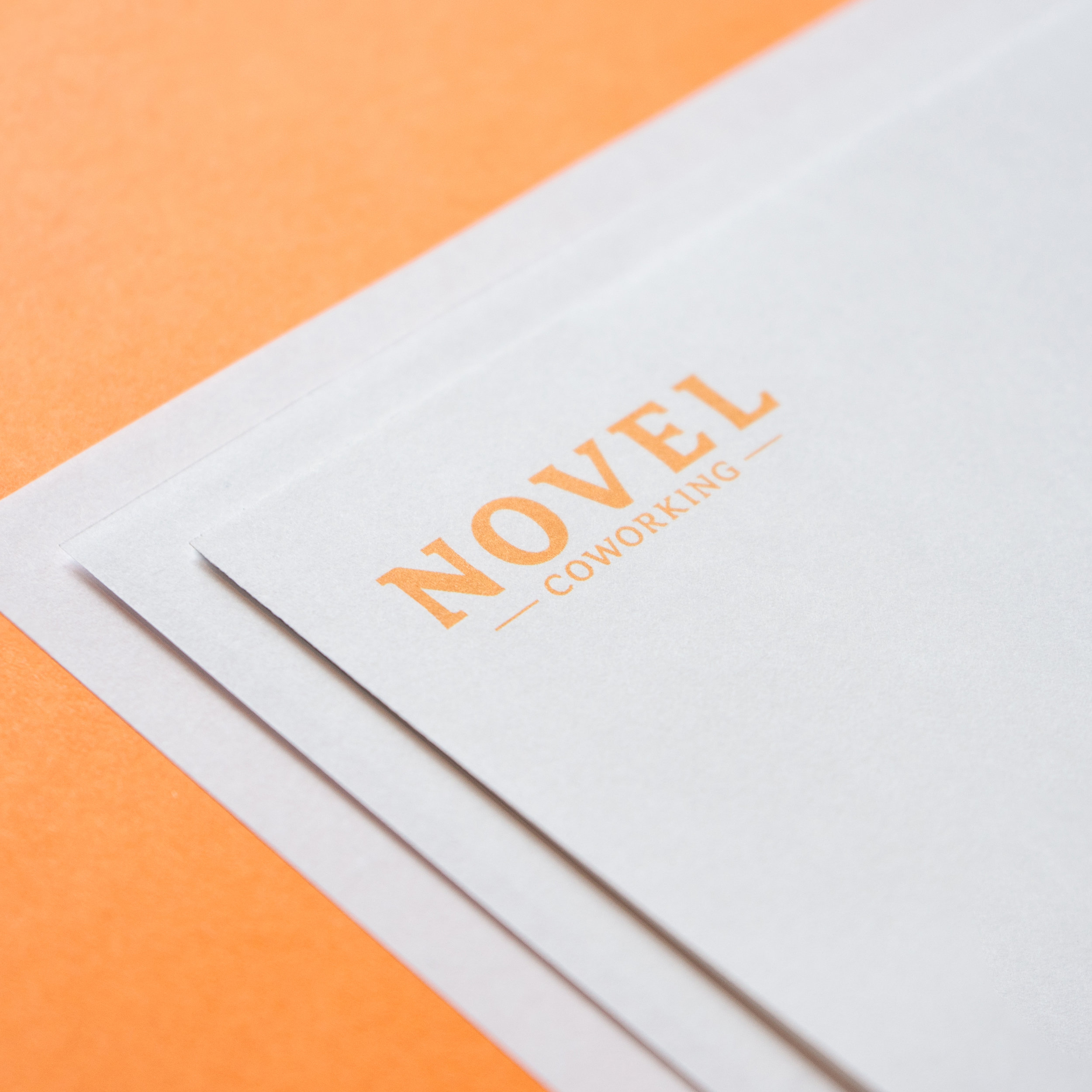 Novel Coworking   Novel Coworking approached us as they were preparing to rebrand their spaces and looking to create a new identity for themselves.
