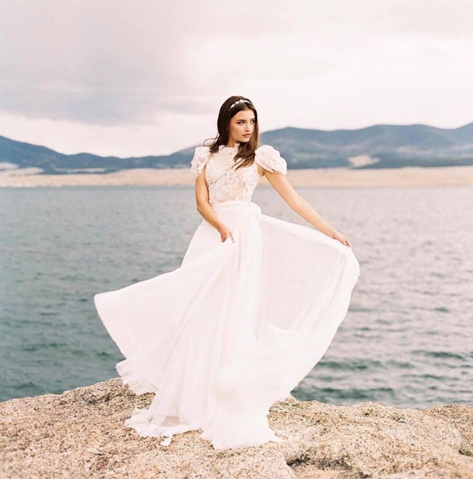 gown designer:  jaclyn jordan new york