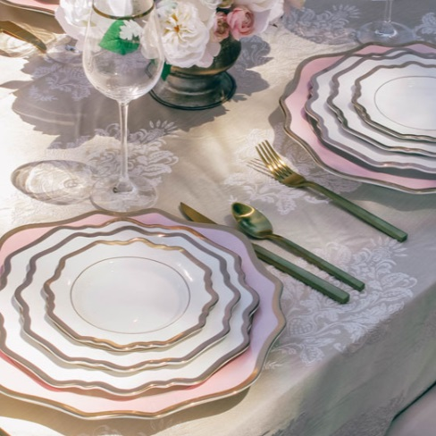 tabletop:  lovely luxe rentals