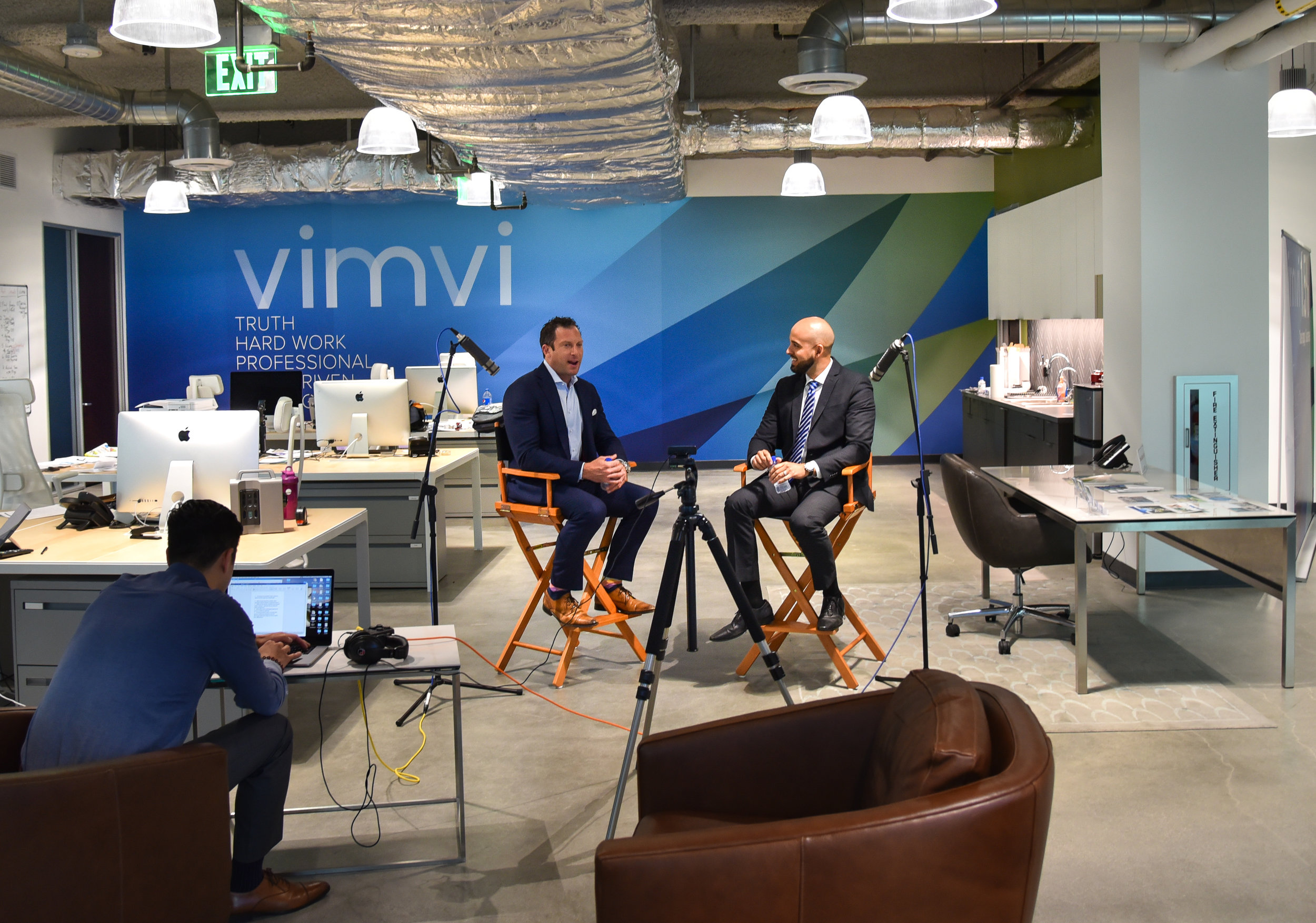 Tune in - As a technologically-forward real estate company, Vimvi produces informative podcasts. We hope to educate our viewers with financially-savvy, real estate and business-related podcasts. We interview local businesses and learn how they've made their success. Check out our podcasts below.