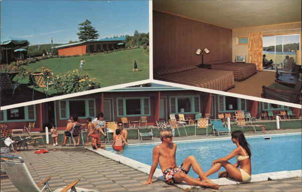 """The Motel - Built in the '50's, and family owned and operated since the '70's, """"The Forge"""" has retained elements of its retro and rustic charm.We have 60 spacious, modestly appointed rooms in the heart of Old Forge, New York."""