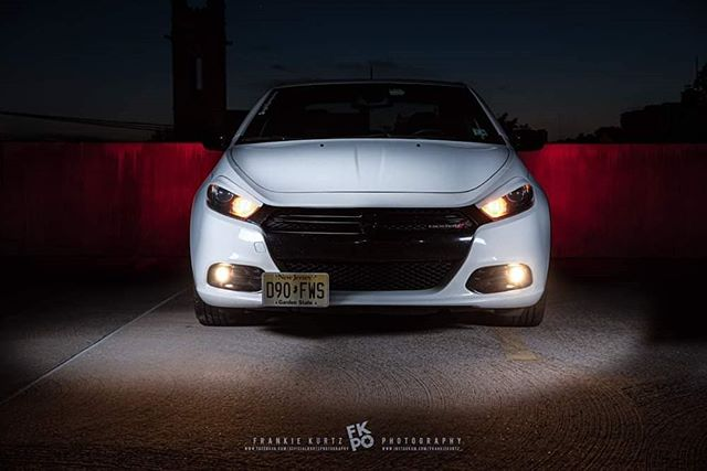 """Nobody likes the tuna here..."" #dartsofinstagram #photoshoot #carguy #nightphotography #njphotographer #phillyphotographer #dart #dodge #mopar  @dodgeofficial @modernmoparmagazine @moparpalooza @mopar_nation"