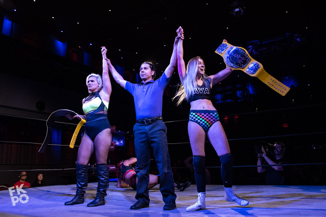 The Platinum Hunnies take gold at Empower Wrestlings show in Jersey City,NJ