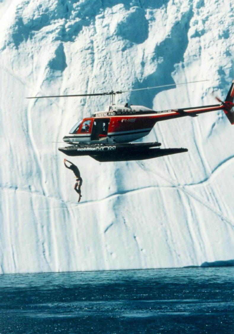 1984 - GREENLAND - WORLD RECORD ON THERMAL SHOCK by Exo Human