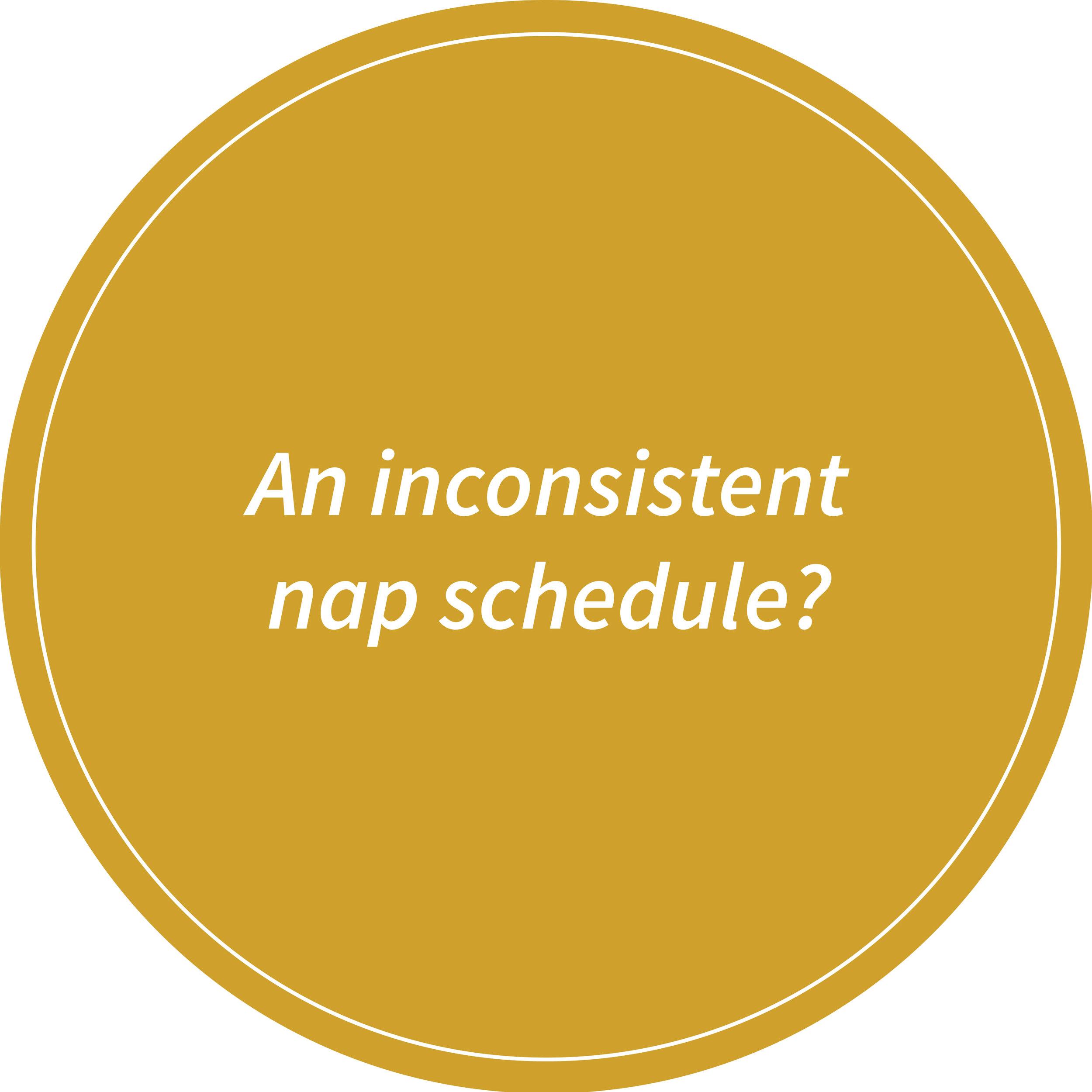 inconsistent-nap-schedule
