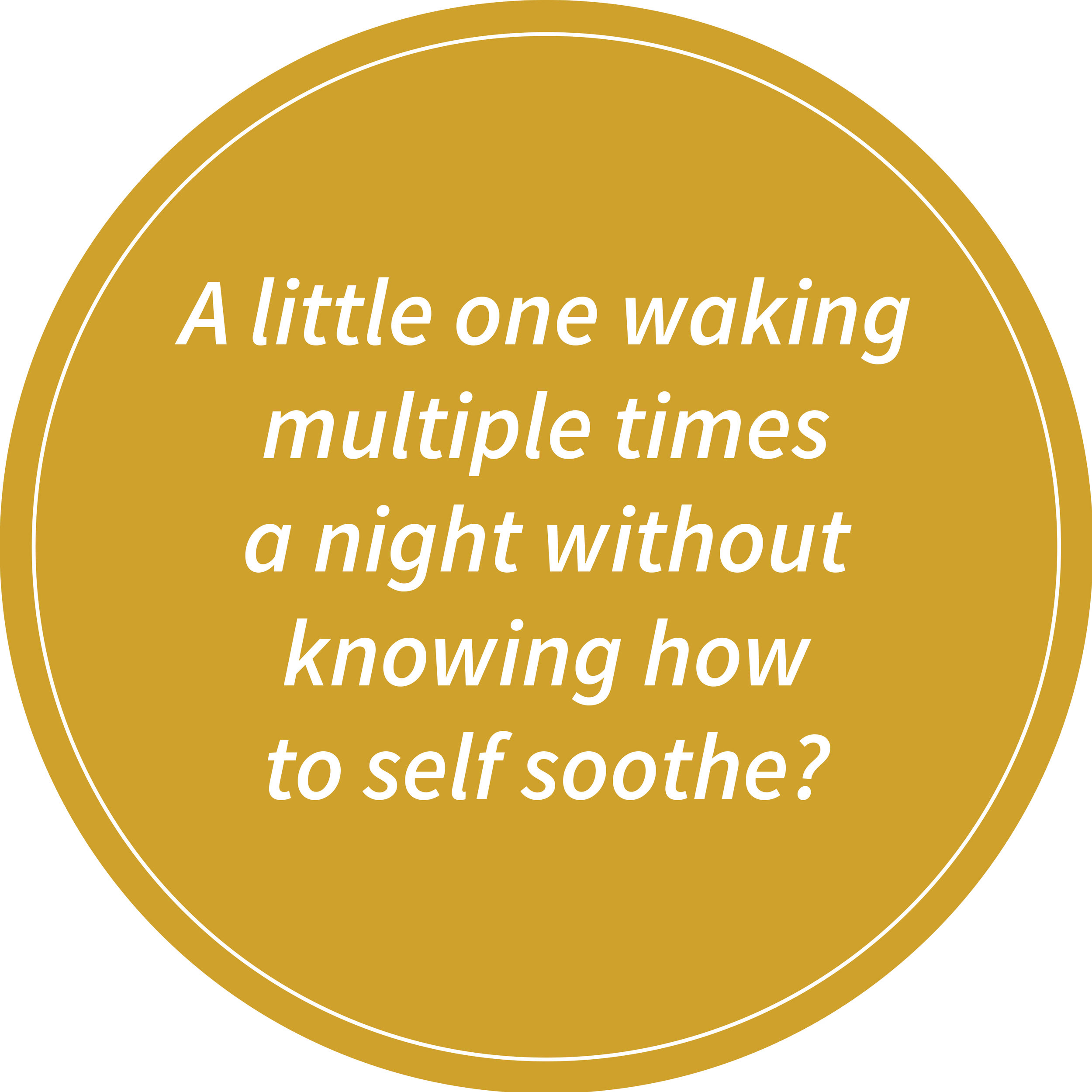self-soothe