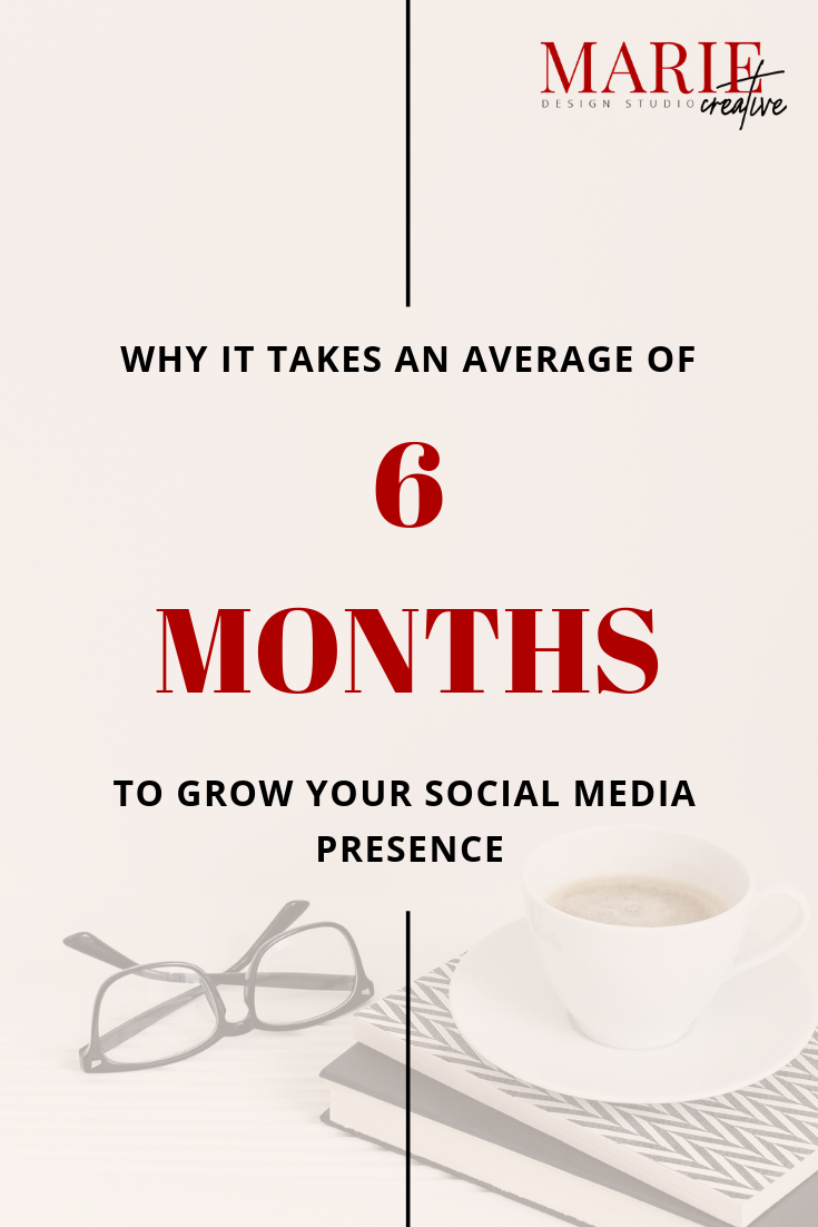 6 months to grow social media presence