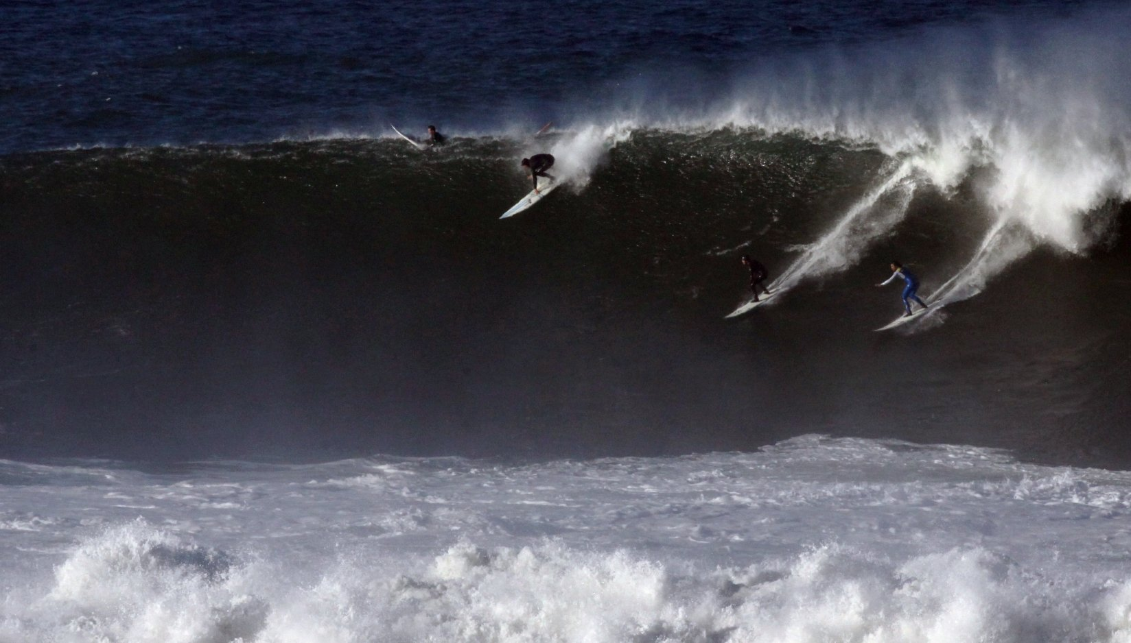 Mavericks Big Waves