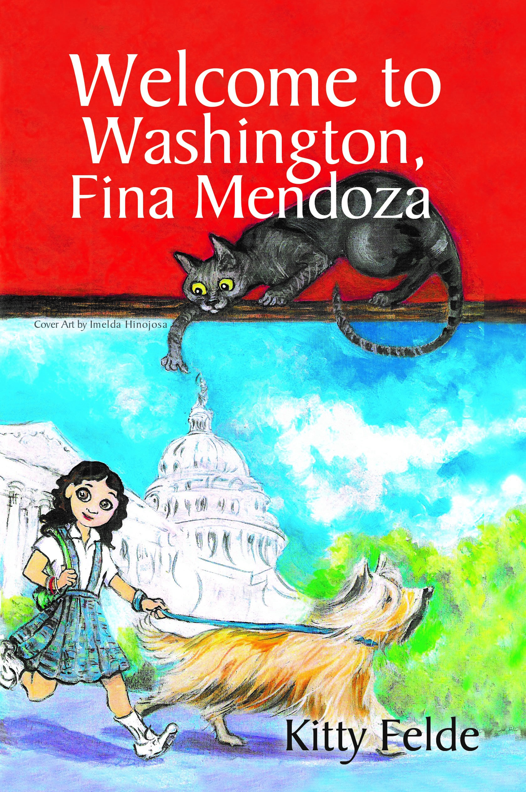 Middle grade mystery set in Washington, DC  10 year old Fina Mendoza solves the mystery of the Demon Cat of Capitol Hill