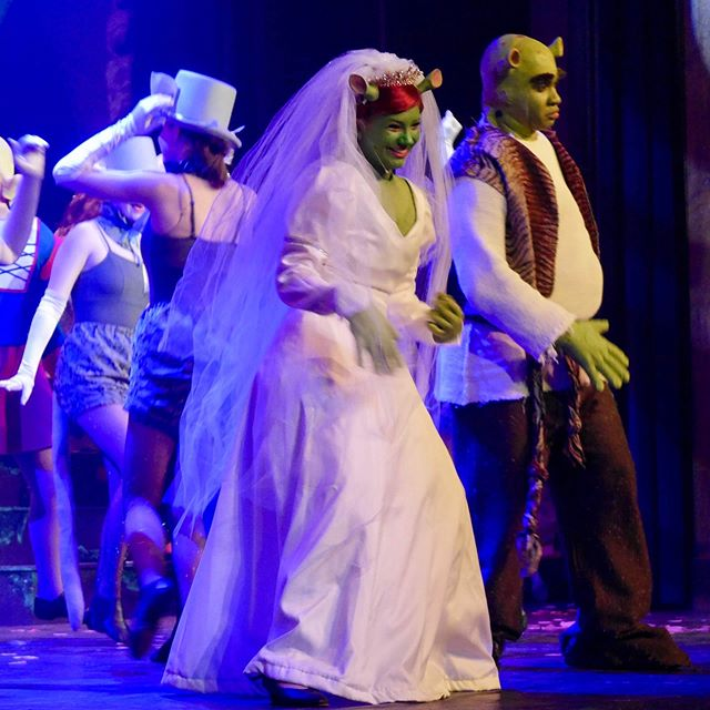 Amazing shows, amazing team! Shrek The Musical closed today with 4 sold out shows and 1 almost sold out! Incredible job everyone! #shrekatrhs @gkawards