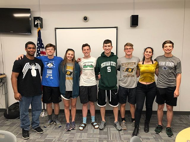 Thank you to our 18/19 student board! Welcome to our 19/20 student board! #rhsmusical