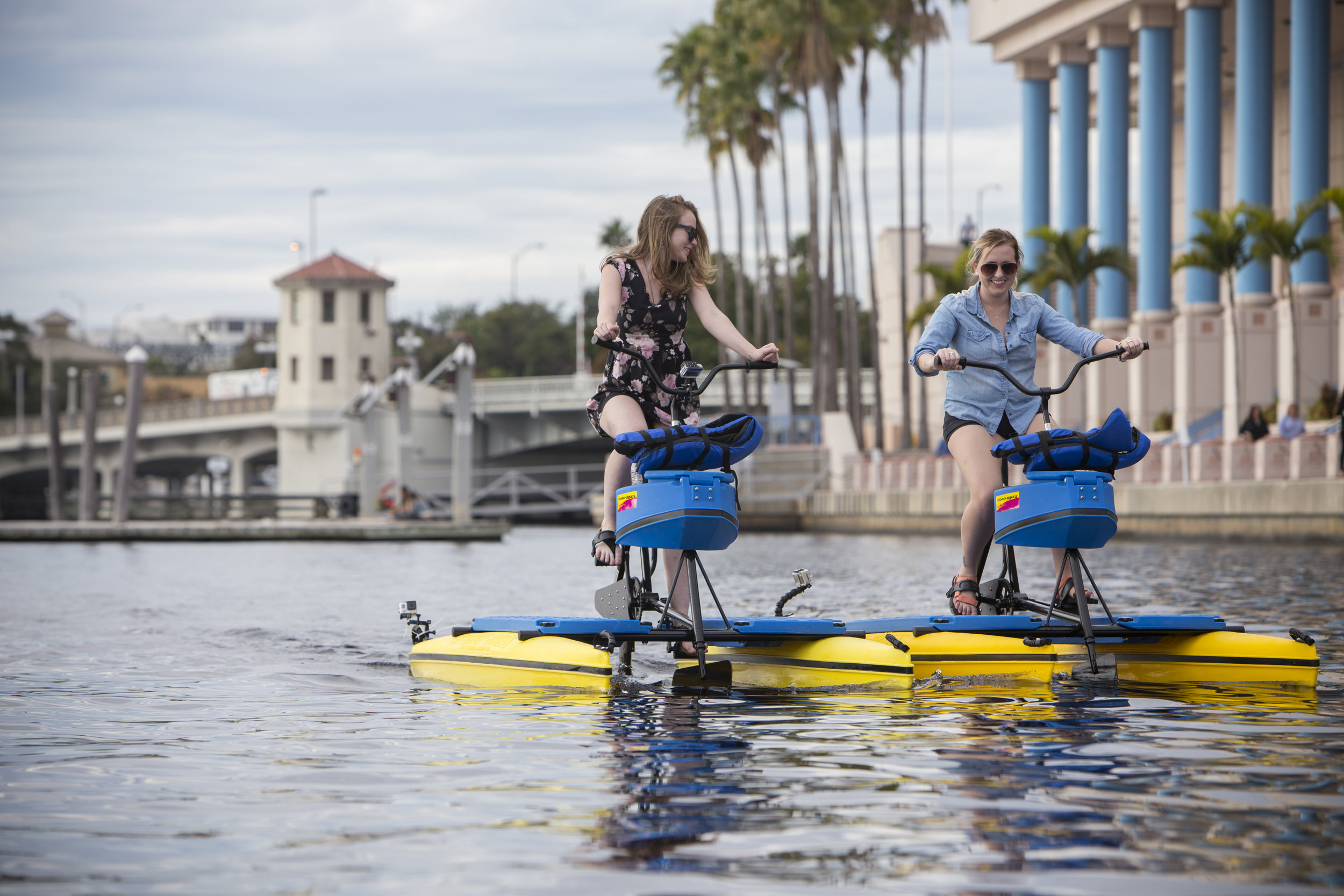 Tampa Water Bike Company date ideas Tampa