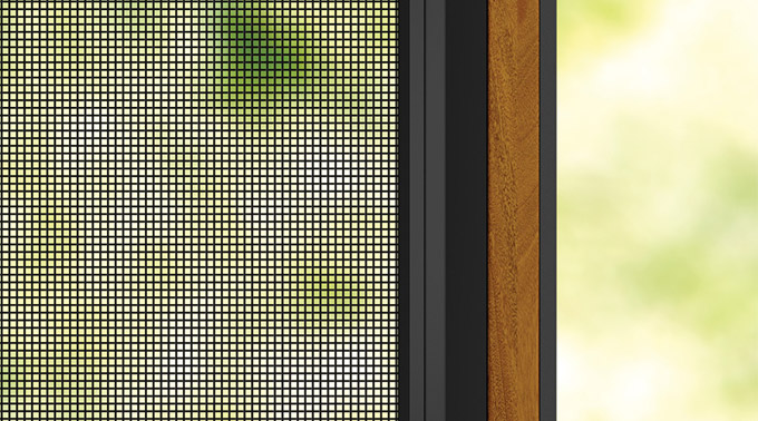 Standard Weave - Made from a durable polyester/PVC mesh, Centor's vanishing screens will keep insects out while standing the test of time.