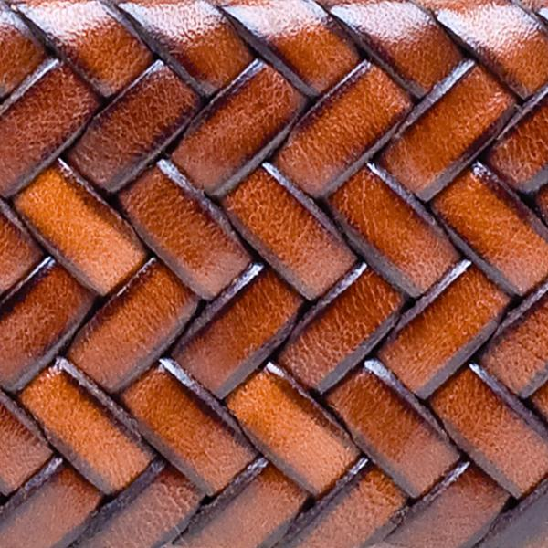 Acorn Weave Leather Grip
