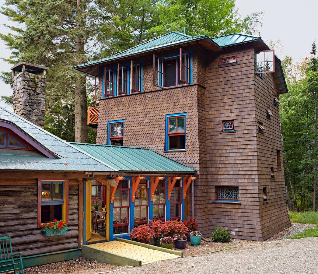 Adirondack Camp - Best Remodel/Addition - 2015 Architects Challenge