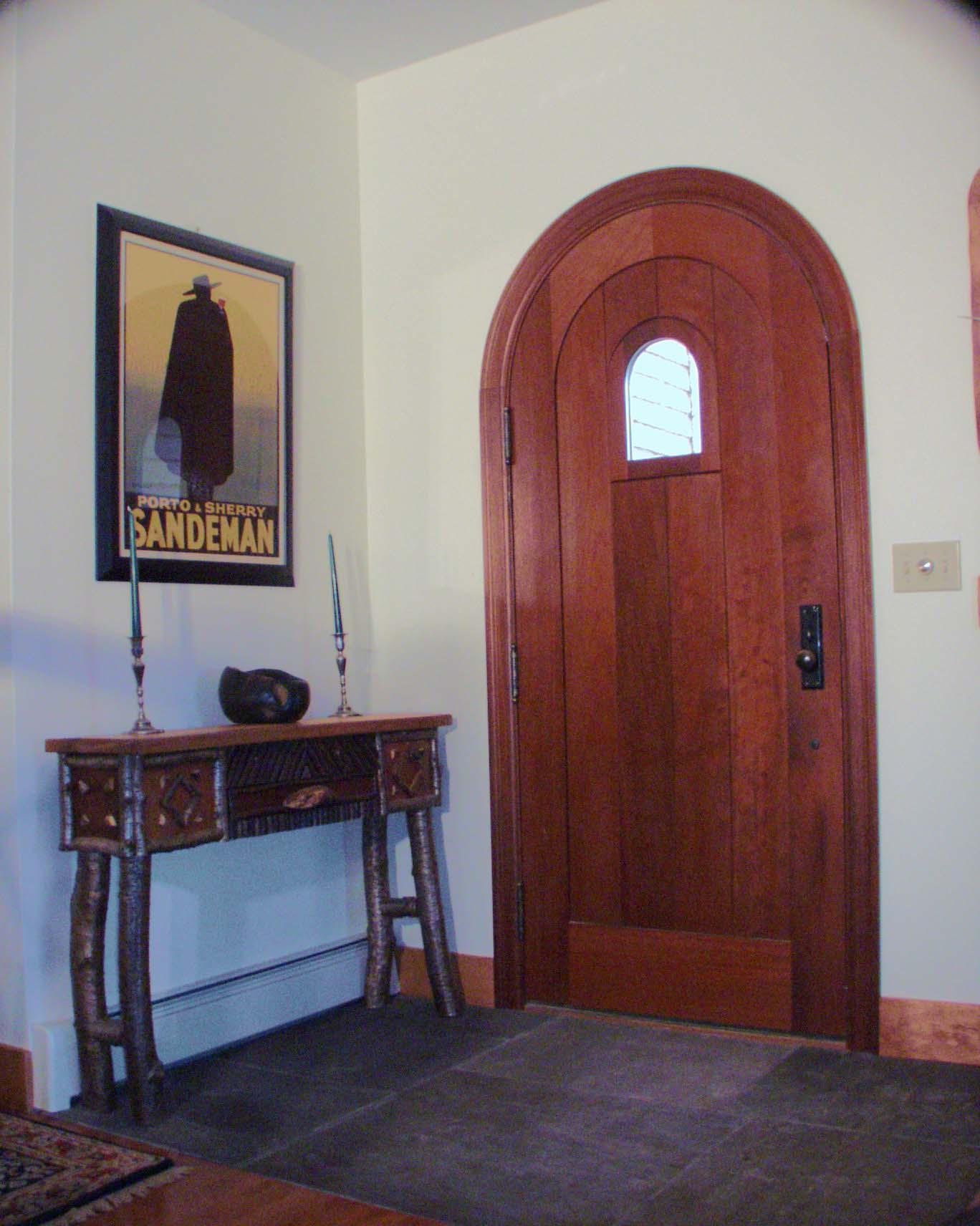 Custom Entrance Door