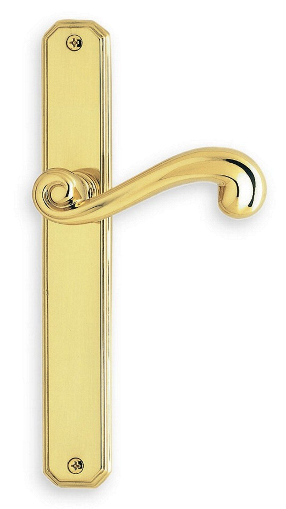 Solid brass latchset