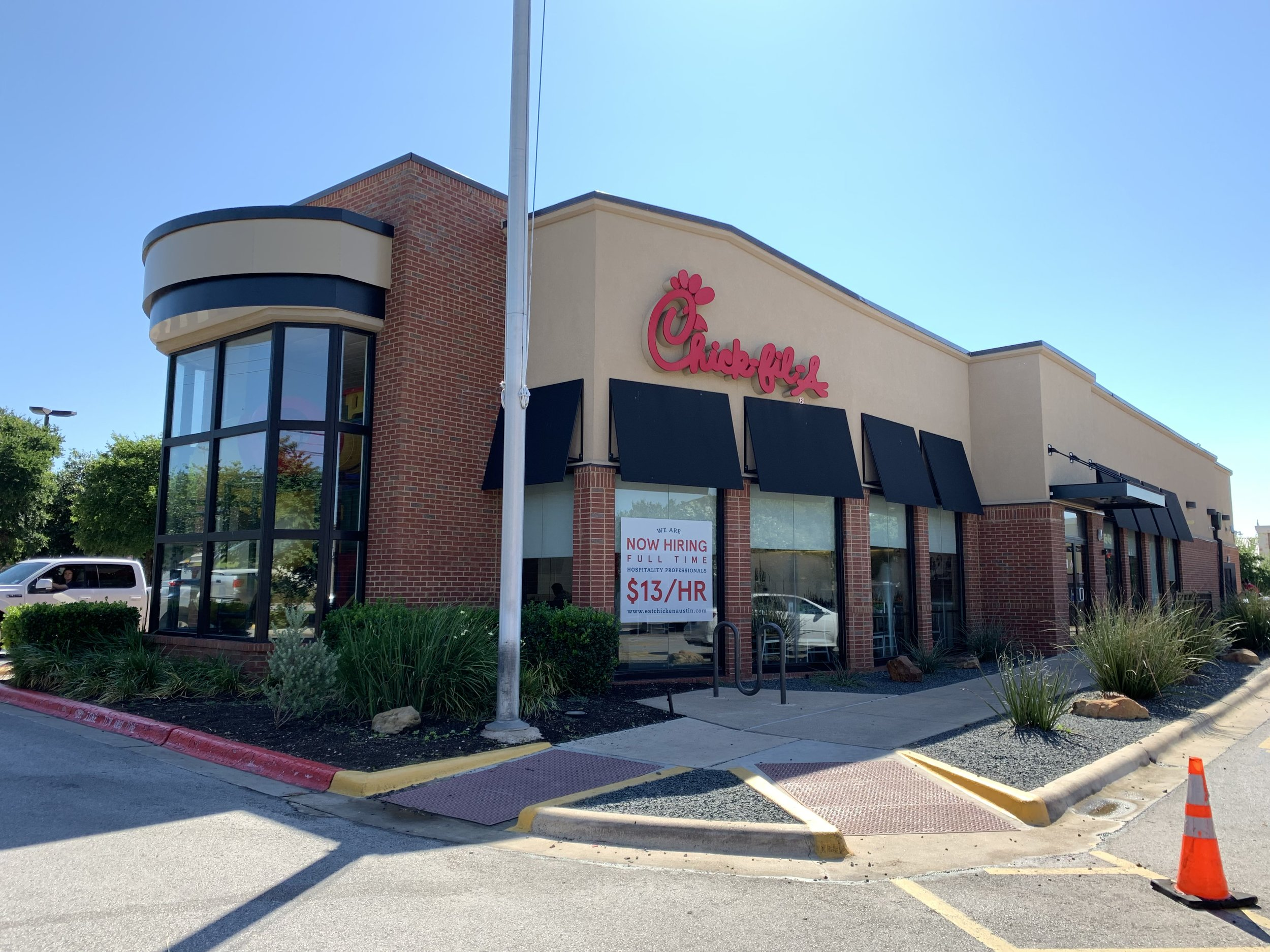 Chick-fil-A South Mopac at US Hwy 290 West - 5033-D US Hwy 290 West,Austin, TX 78735(512) 358-9125