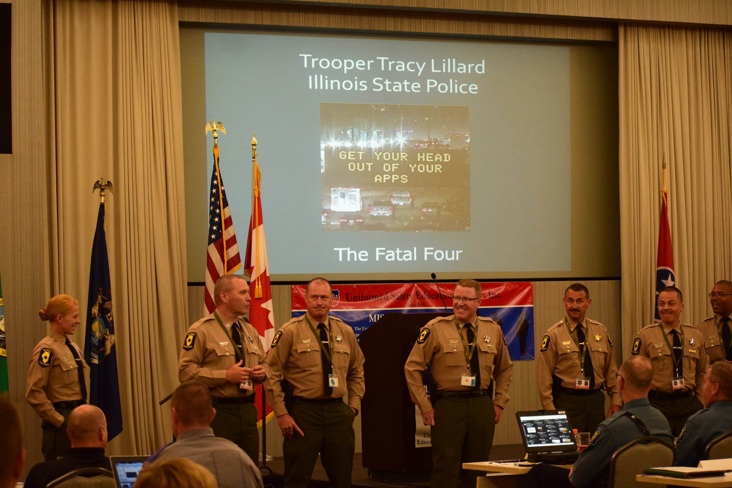 Illinois State Police, Tracy Lillard Presentation.JPG