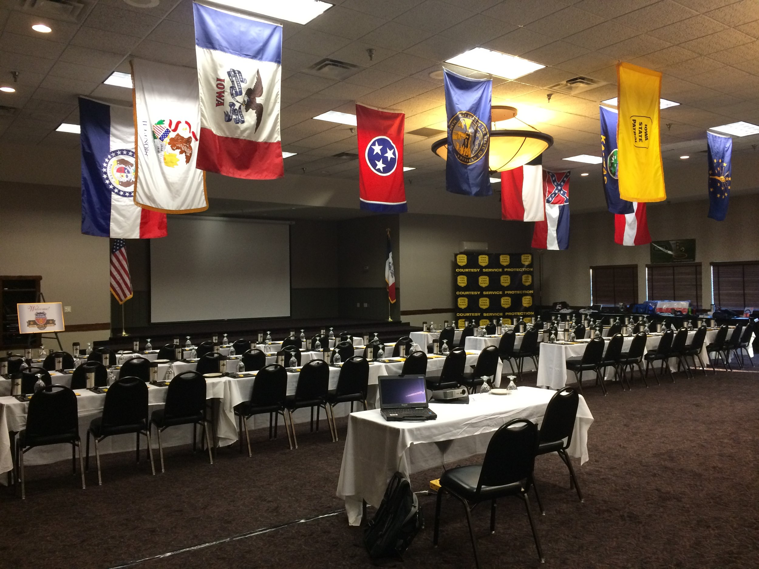 Iowa - Conference Room with Flags.JPG