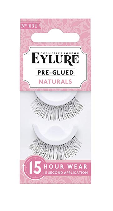 Eylure Pre-Glued Lashes - These lashes are my preferred choice even when I'm not traveling, but when you are traveling and want to avoid worrying about easily forgotten things (such as eyelash glue) then these are the answer. They come pre-glued, which means you don't have to worry about having glue or, worse, having it and something happening to it during your journey. If you expect you'll need lashes for a party or photoshoot, do yourself a favor and buy these lashes!