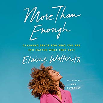 """More Than Enough by Elaine Welteroth - Elaine Welteroth walked into the hearts of Project Runway fans around the world this season, including myself. Per the book description: the revolutionary editor who infused social consciousness into the pages of Teen Vogue explores what it means to come into your own - on your own terms.Check it out on Amazon and be sure to download the Google Chrome """"Library Extension"""" to see if it's available for free at your local library ahead of your travels."""