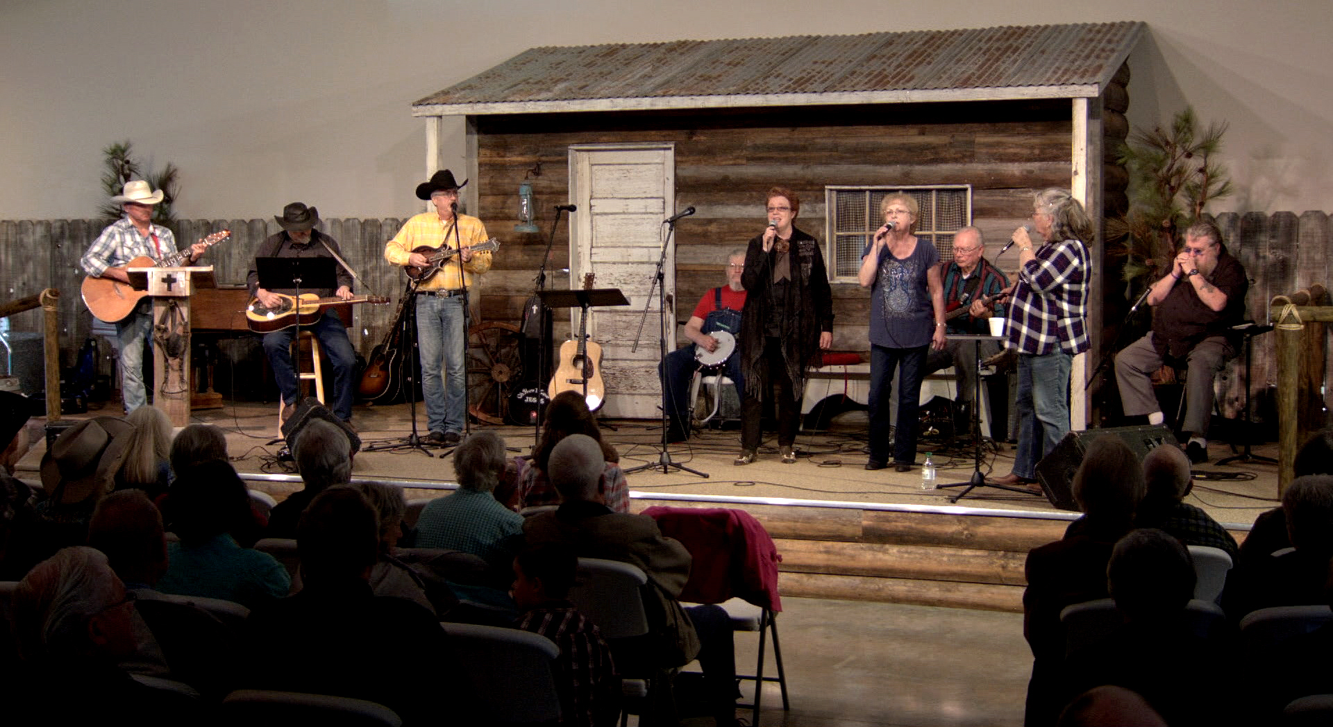 Kip Bradford leads out in this new cowboy church program seen on Better Life TV.