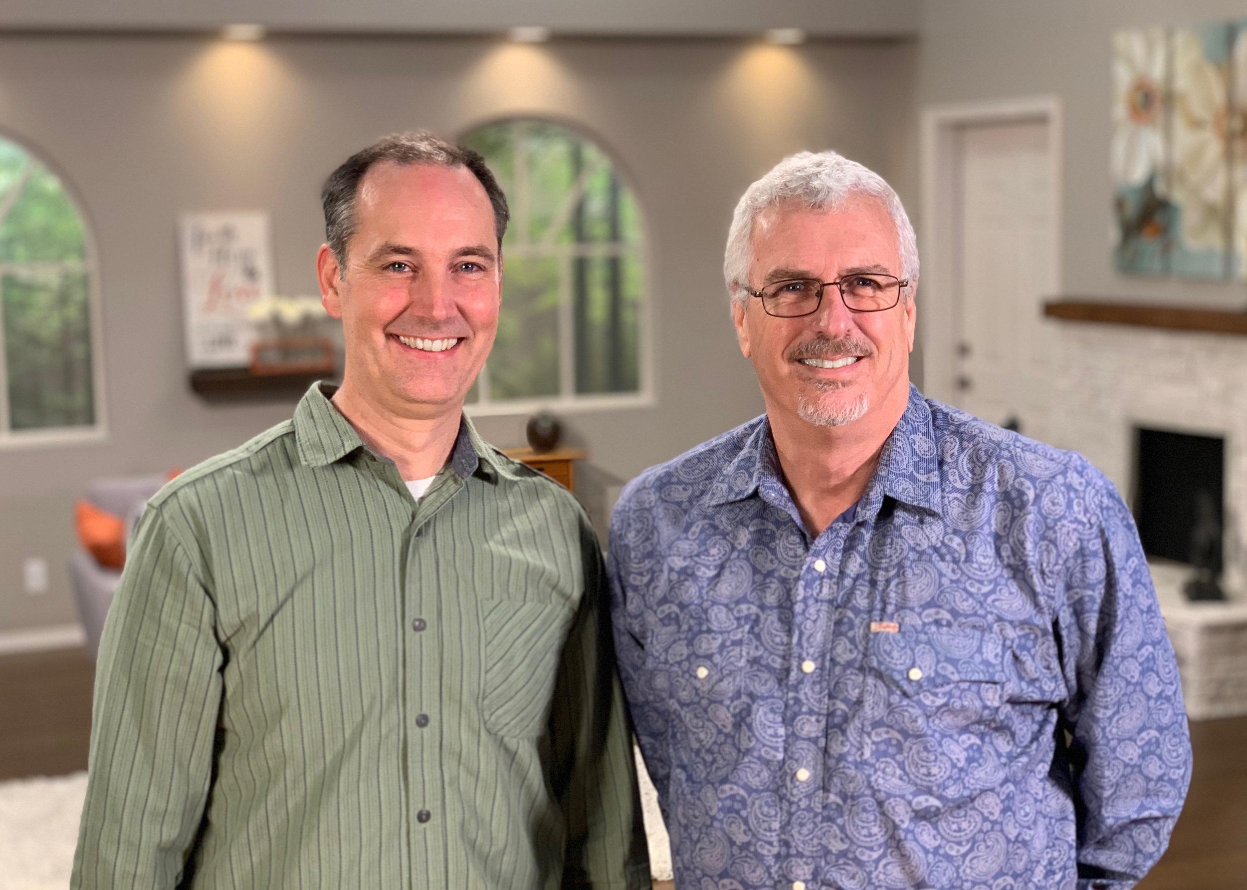 Charlie Oliver & Pastor Kip Bradford