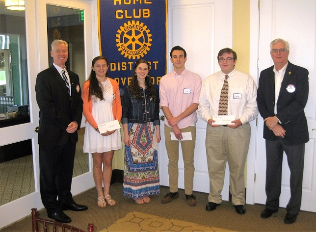 scholarship winners - Our club scholarship winners, congratulations!