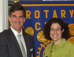 speaker - Mitchell Reiss spoke to our club about Colonial Williamsburg
