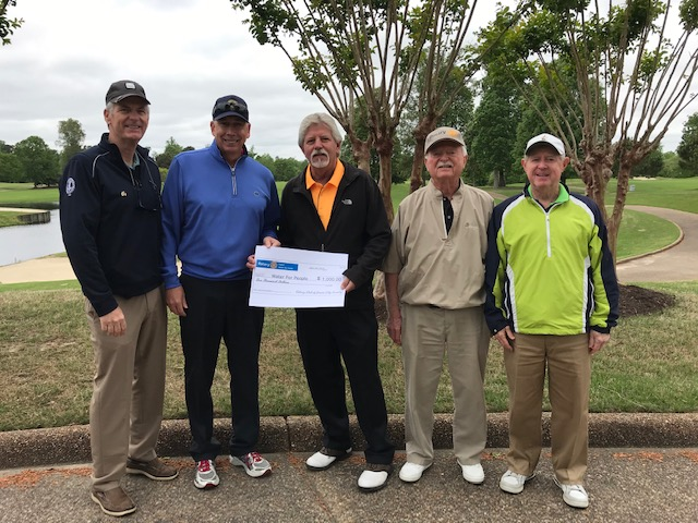 having fun - Our members supported a golf tournament fundraiser for Water for People, providing clean water and sanitation projects in South America.