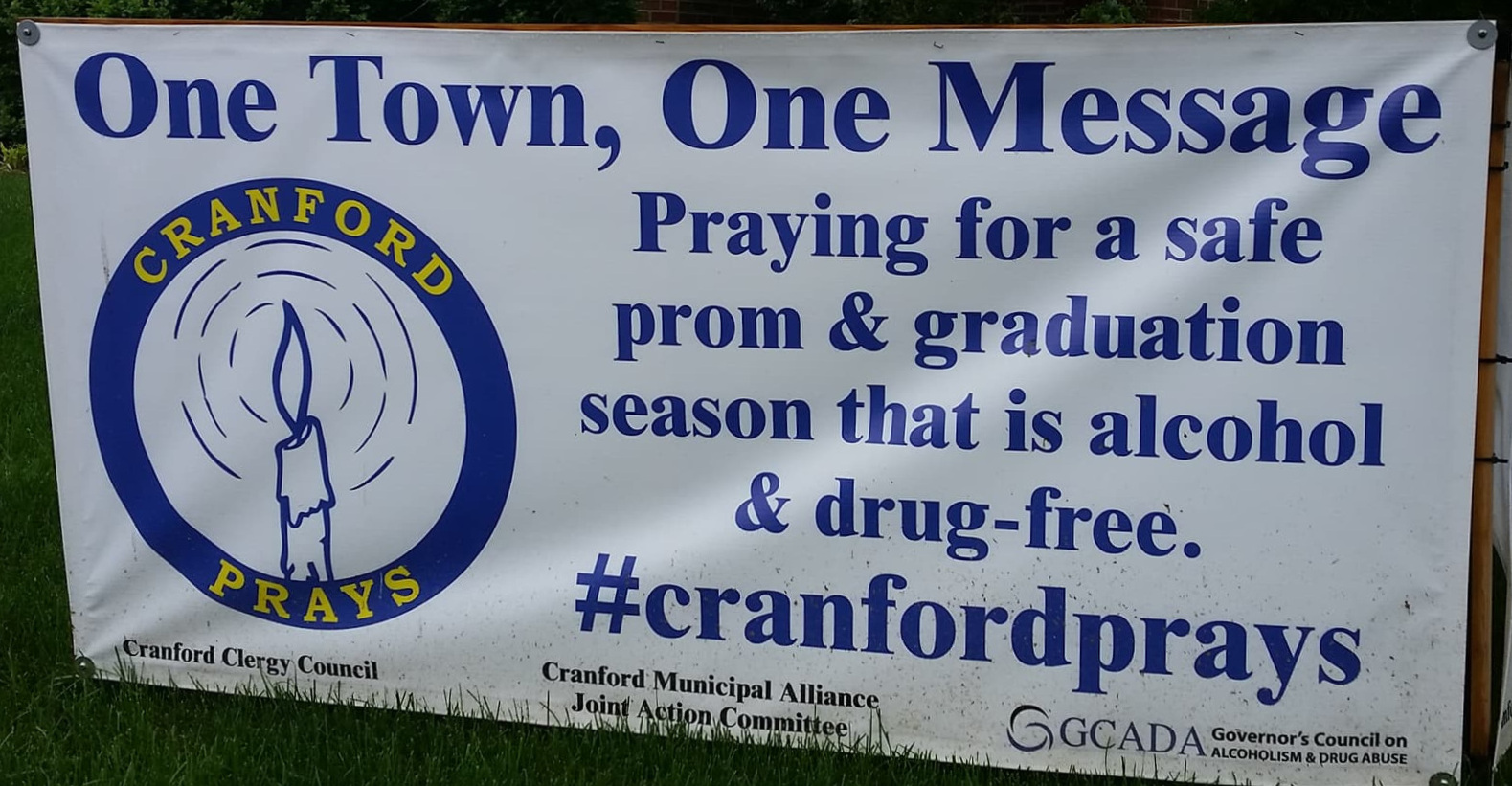 In Cranford's Town Square - During Prom Season - Annual Posting