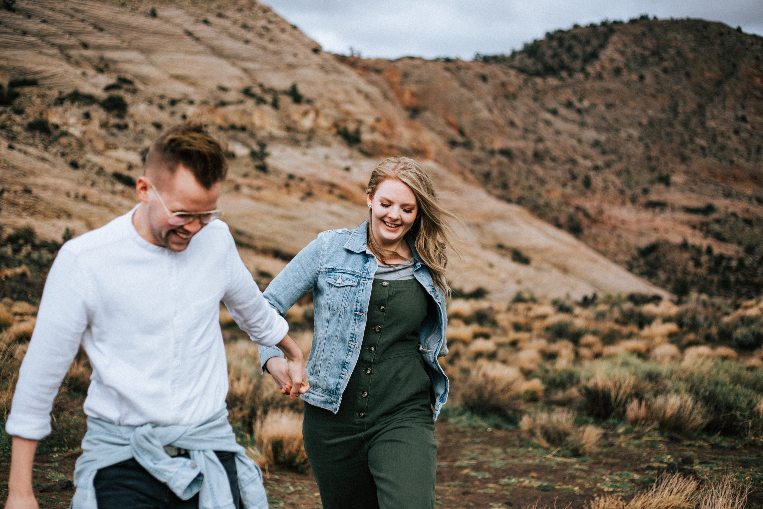 Adventurous Snow Canyon St. George Utah Engagements