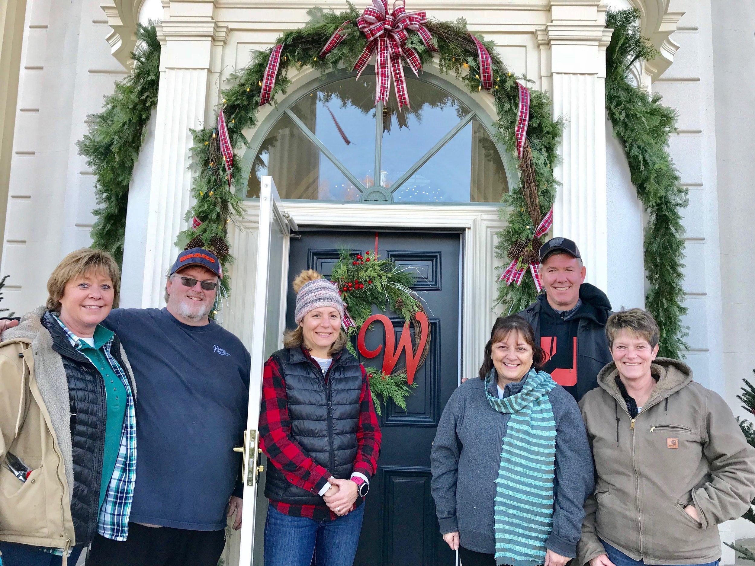 Governors Executive Residence Christmas decorating (2018)