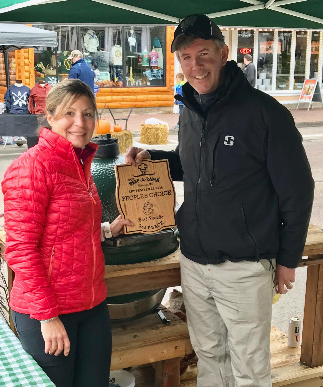 Beef A Rama - Minocqua, WI - 3rd Place Award on the Big Green Egg (2018)
