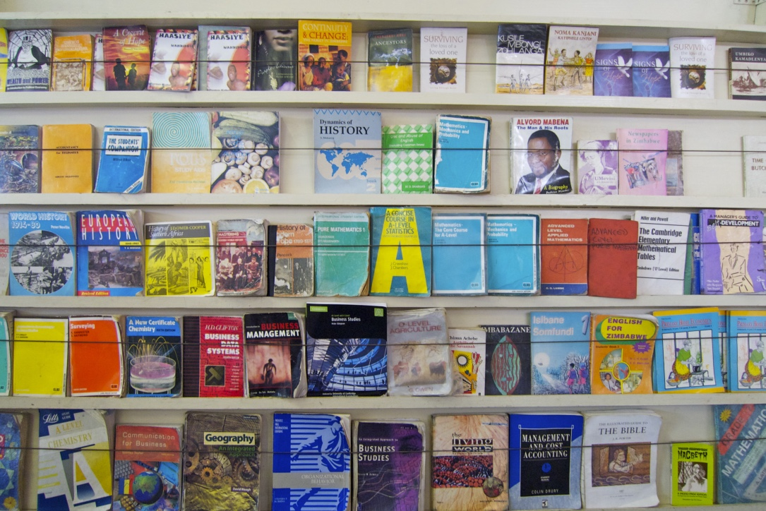 Taken at a bookstore in Harare, Zimbabwe. I liked this picture and never knew what to do with it. Problem solved.