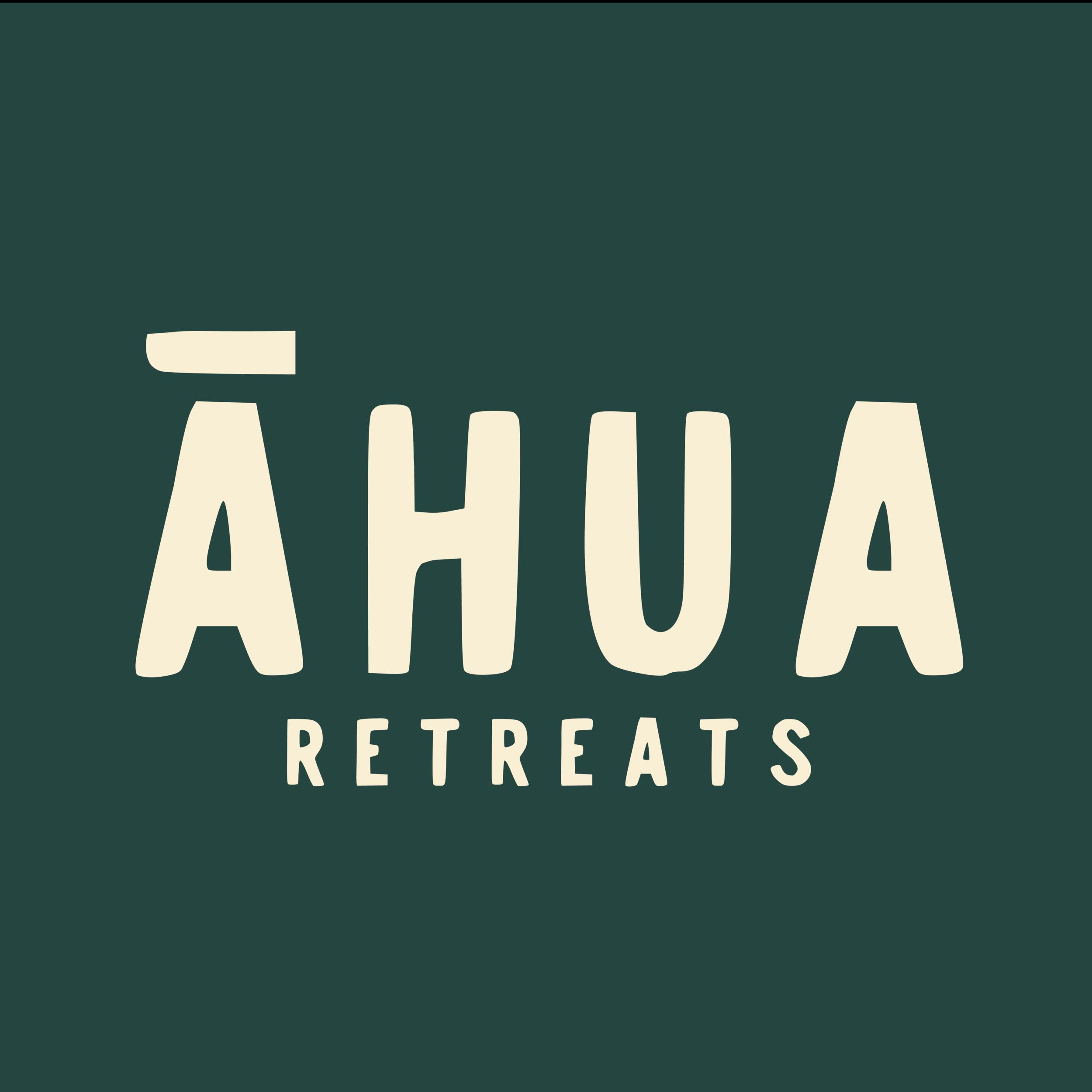 Logo design for Ahua Retreats, Wanaka, NZ