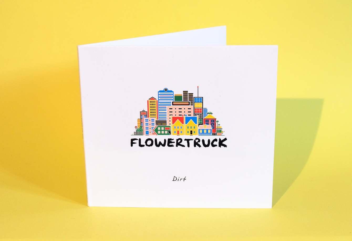 Flowertruck EP 'Dirt' album cover design