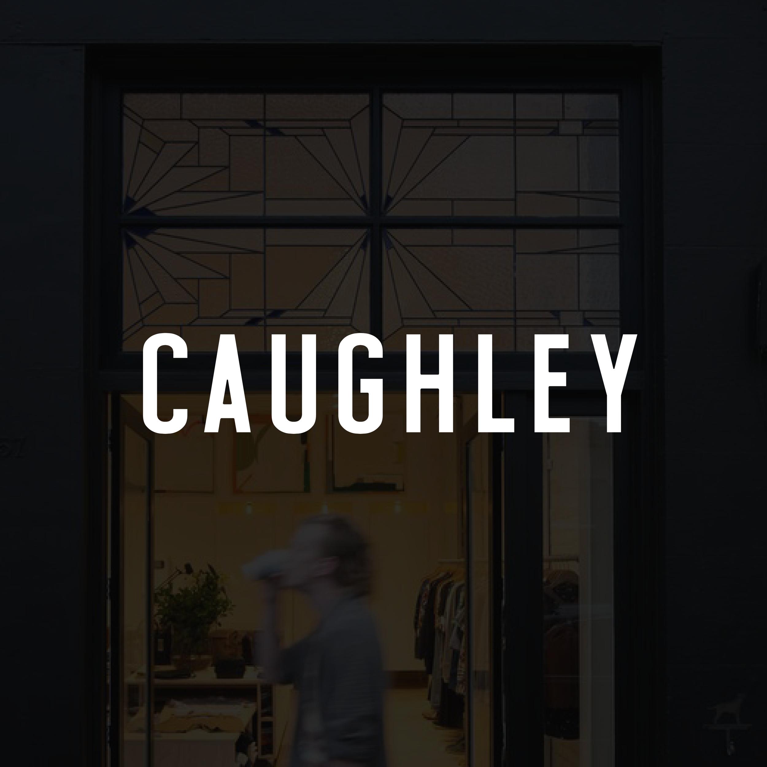 Branding for CAUGHLEY, Wellington, NZ   www.caughley.com
