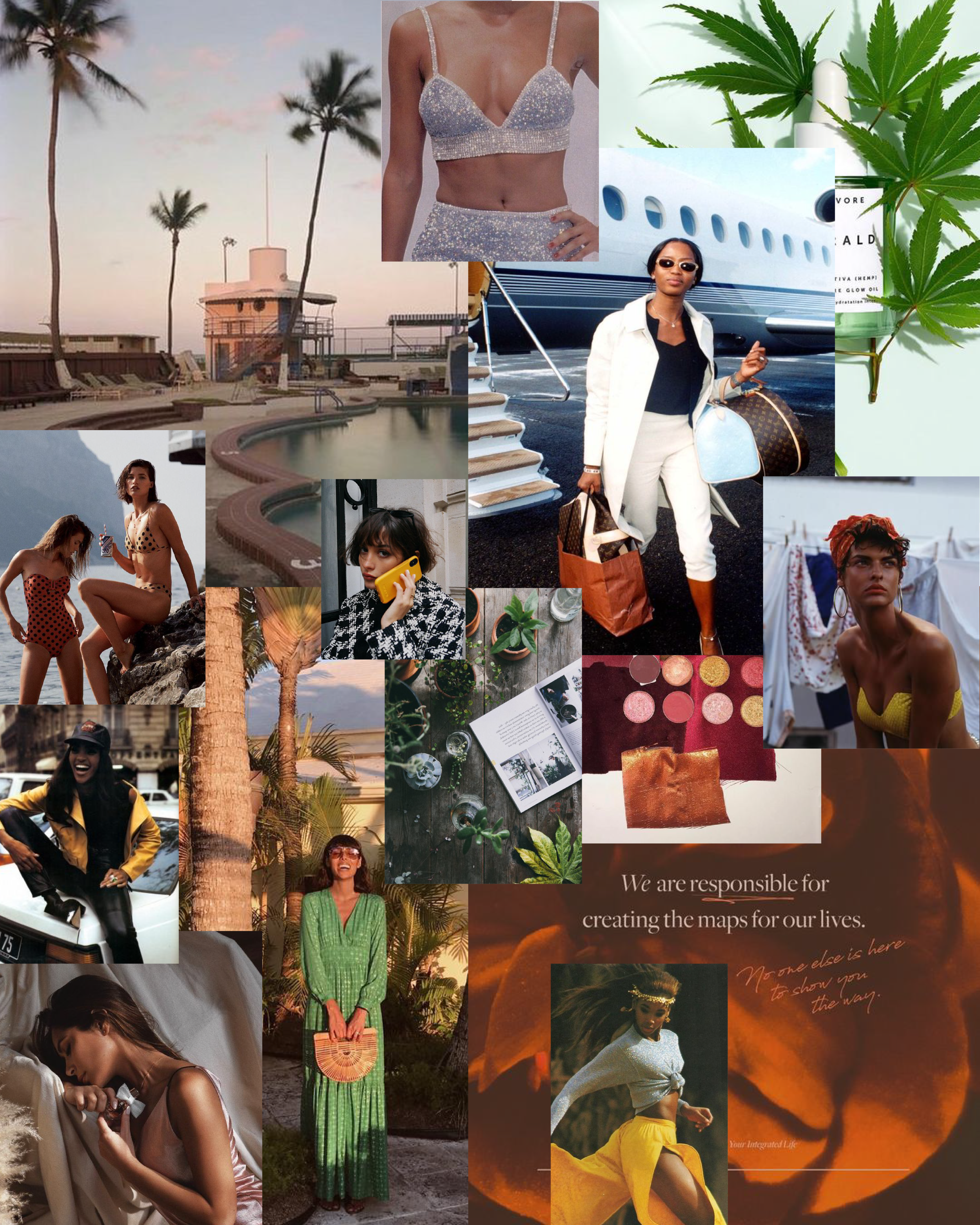 2019 mood board for The Avenue and Co.